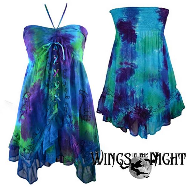JORDASH Ladies Gothic Hippy 4 in 1 Dress / Skirt